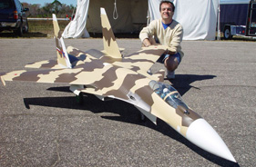 Kit SUKHOI 37 GUSTAVO CAMPANA - RC Jet model - Aviation Design