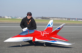 Kit SUPER SCOPRION ÉRIC BRANICKI - RC Jet model - Aviation Design