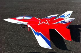 Kit SUPERSCORPION ÉRIC BRANICKI BRÉTIGNY - Jet radio-commandé - Aviation Design