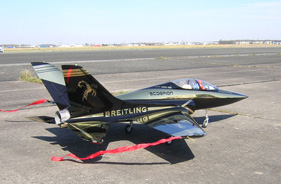 Kit SUPERSCORPION GOLD JEFF LALLEMANT - RC Jet model - Aviation Design