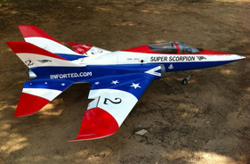 Kit SUPERSCORPION THIERRY WAYMEL - RC Jet model - Aviation Design