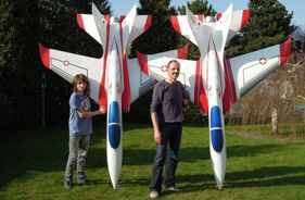 Kit SUPERSCORPION KLEMENS STEVEN - RC Jet model - Aviation Design