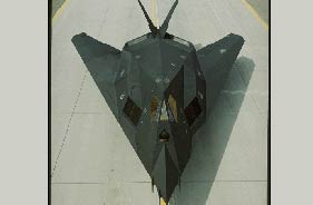 Kit F-117 - RC Jet model - Aviation Design