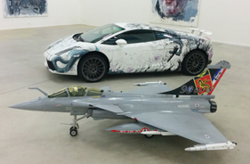 Kit RAFALE & LAMBORGHINI GALERIE THE STORAGE - Jet radio-commandé - Aviation Design
