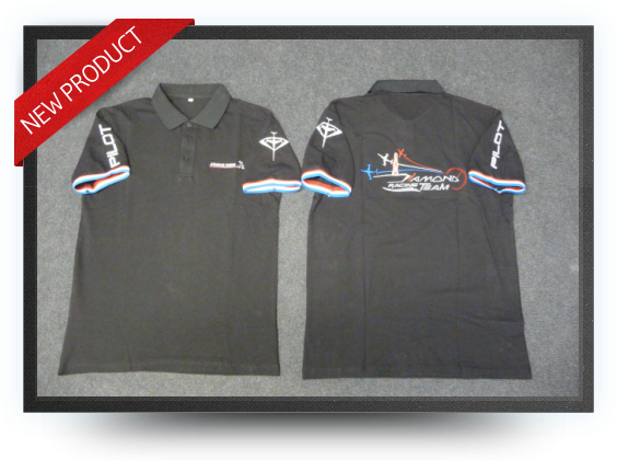 Jets - Aviation design diamond's polo shirt size : m - Aviation design diamond's polo shirt size : m - Aviation Design