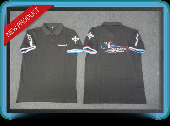 Jets - Aviation design diamond's polo shirt size : xl - Aviation design diamond's polo shirt size : xl - Aviation Design