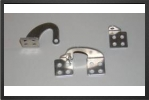 ADT 201 : Large Model Aluminium Door Hinges (2 Pieces) - Jets radio-commandés - Aviation Design