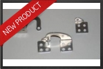 ADT 202 : Aluminium Door Hinges (2 Pieces) - RC Jet models - Aviation Design