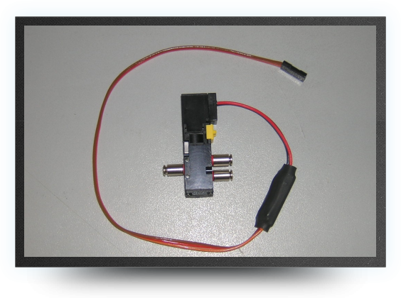 Jets - High flow Jetronic electro valve (4 way) for big air cylinders - High flow Jetronic electro valve (4 way) for big air cylinders - Aviation Design