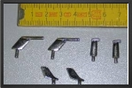 ADD 106 : Set Of 6 Metal Probes (incidence + Pilot) - Jets radio-commandés - Aviation Design