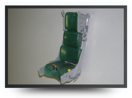 Jets - 1/5 Martin Baker MK10 ejector seat kit non painted, 220mm x 135mm x 100mm - 1/5 Martin Baker MK10 ejector seat kit non painted, 220mm x 135mm x 100mm - Aviation Design
