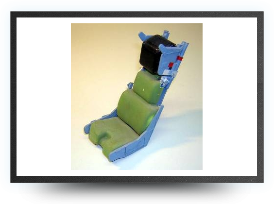 Jets - 1/9 Martin Baker MK10 ejector seat kit non painted, 138mm x 63mm x 50mm - 1/9 Martin Baker MK10 ejector seat kit non painted, 138mm x 63mm x 50mm - Aviation Design
