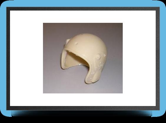 Jets - '¼ jet pilot helmet non painted - '¼ jet pilot helmet non painted - Aviation Design