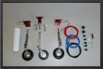 ADJ 160E - Deluxe landing gear + 2 electro valves for gear and brakes