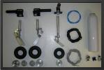ADJ 580-2 - Deluxe landing gear 2 ways + oleo legs + wheels (all CNC)