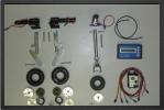 ADJ 610EL - Deluxe electric landing gear oleo legs + wheels + electric brakes