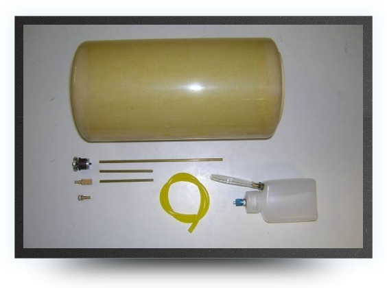 Jets - 3.5 liter kevlar fuel tank + ubt - 3.5 liter kevlar fuel tank + ubt - Aviation Design