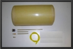 ADJ 435K : 3.5 Liter Kevlar Fuel Tank - Jets radio-commandés - Aviation Design