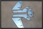ADJ 438 - Wings, stabs, rudders protection covers