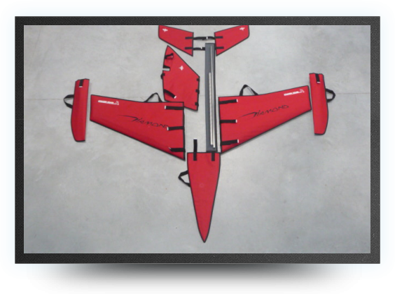 Jets - Fabric wings, stabs, rudder, nose protection covers - Fabric wings, stabs, rudder, nose protection covers - Aviation Design
