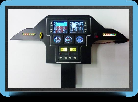 Jets - LCD instrument panel - LCD instrument panel - Aviation Design