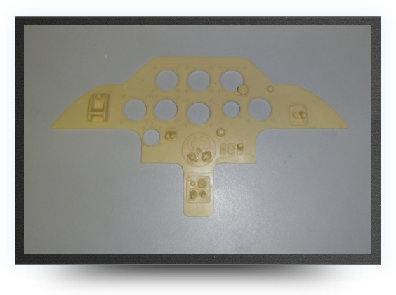Jets - Resin instrument panel - Resin instrument panel - Aviation Design