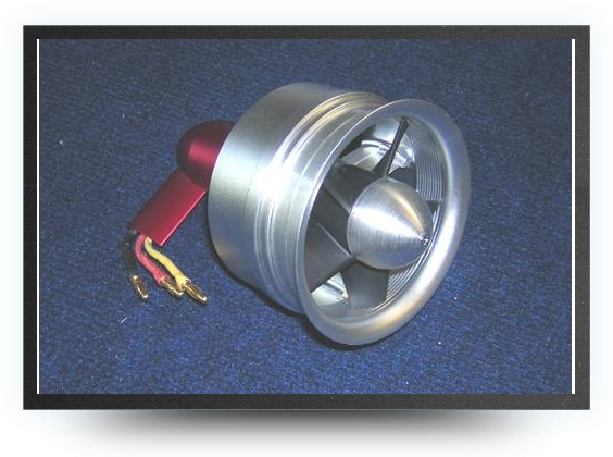 Jets - 90 mm electric ducted fan for 9 S - 90 mm electric ducted fan for 9 S - Aviation Design