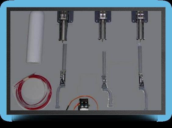 Jets - Landing gear + electro valve - Landing gear + electro valve - Aviation Design