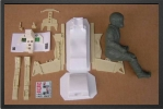 ADJ 735 - Cockpit detail kit for single seat version