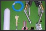 ADJ 635E - Scale landing gear + electro valve