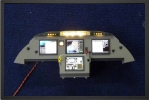 ADJ 642 - Instrument panel with 4 color displays