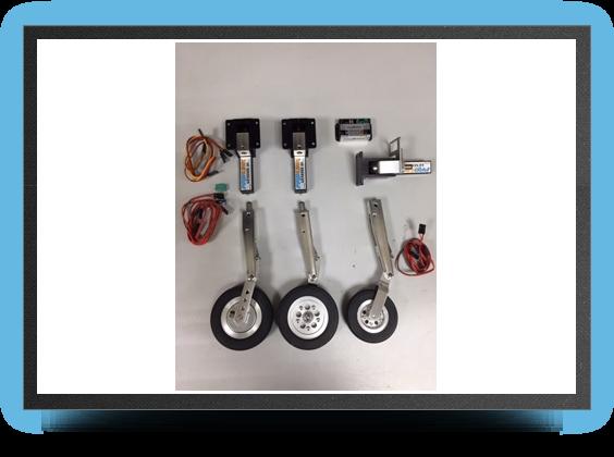 Jets - Oleo legs for electric landing gear - Oleo legs for electric landing gear - Aviation Design