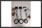 ADJ 160JEL : Oleo Legs For Electric Landing Gear - Jets radio-commandés - Aviation Design