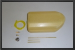 ADJ 175KU : 2.5 Liters Kevlar Fuel Tank + Ubt - Jets radio-commandés - Aviation Design