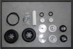 ADJ 703 - Wheels set + brakes + micro switch