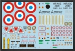 ADJ 715F : French Air Force Water Decals - Jets radio-commandés - Aviation Design