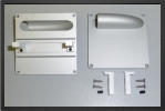 ADJ 720 : 4 x Aluminium Servo Supports For Standard Size Servo - Jets radio-commandés - Aviation Design