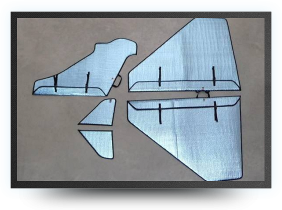 Jets - Wings, rudders and canard protection covers - Wings, rudders and canard protection covers - Aviation Design