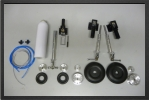 ADJ 251 - Deluxe air landing gear + 3 oleo legs + 4 wheels + brakes