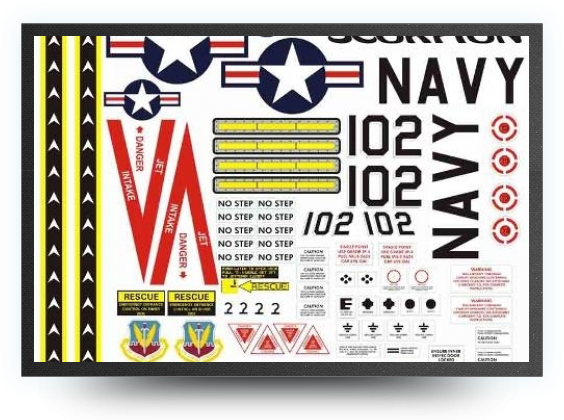Jets - navy decals - navy decals - Aviation Design