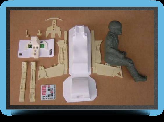 Jets - Cockpit detail kit for single seat version - Cockpit detail kit for single seat version - Aviation Design