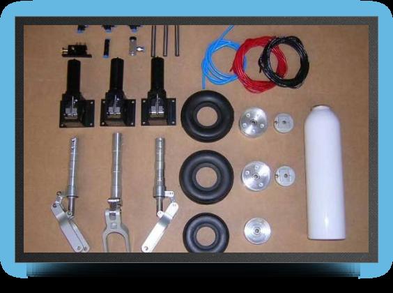 Jets - Deluxe landing gear + oleo legs + wheels (all CNC) - Deluxe landing gear + oleo legs + wheels (all CNC) - Aviation Design