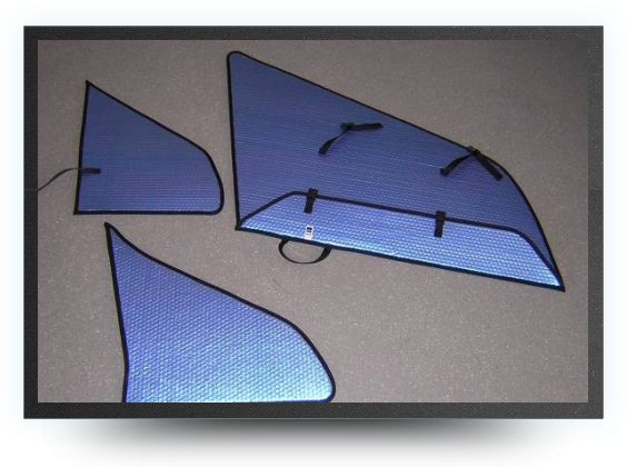 Jets - Wings, stabs, rudders protection covers - Wings, stabs, rudders protection covers - Aviation Design