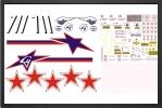 ADJ 617 : Russian Decals - Jets radio-commandés - Aviation Design