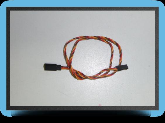 Jets - Jr extention lead, 50 cm, wire 0.30mm2 - Jr extention lead, 50 cm, wire 0.30mm2 - Aviation Design