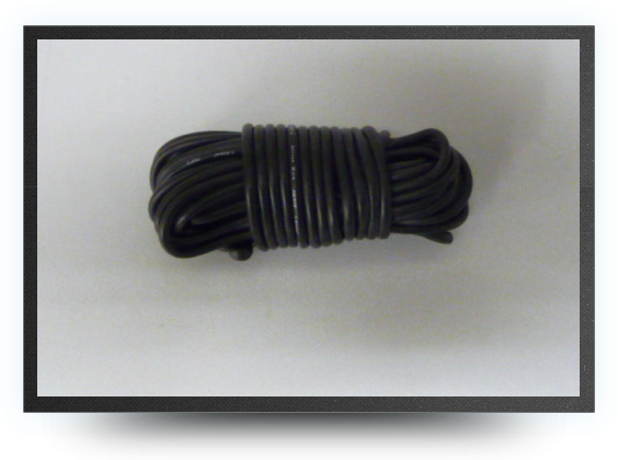 Jets - Silicone wire awg16, 1.32mm² black, 5 meters - Silicone wire awg16, 1.32mm² black, 5 meters - Aviation Design