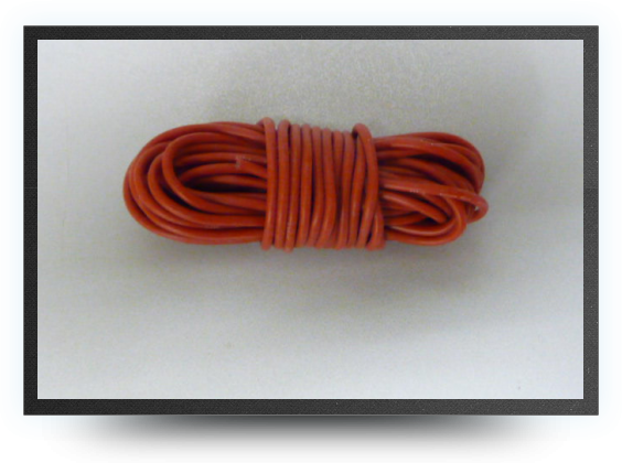 Jets - Silicone wire awg18, 0.81 mm² red, 5 meters - Silicone wire awg18, 0.81 mm² red, 5 meters - Aviation Design