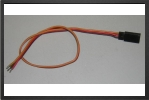 ACC 13015 : Gold JR Female Connector, Wire 0.30 M2 - Jets radio-commandés - Aviation Design