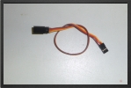 ACC 13025 : Jr Extention Lead, 25 Cm, Wire 0.30 mm2 - Jets radio-commandés - Aviation Design