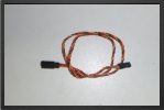 ACC 13035 : Jr Extention Lead, 50 Cm, Wire 0.30 mm2 - Jets radio-commandés - Aviation Design